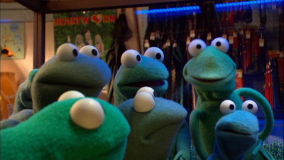 The Muppet Frogs appeared in the muppet show.