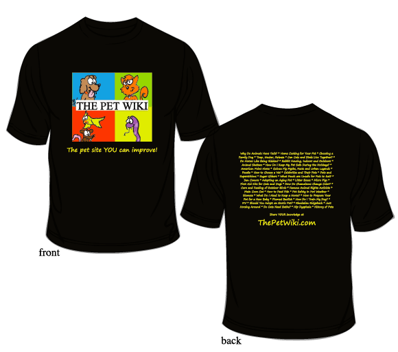 The Pet Wiki T-shirt